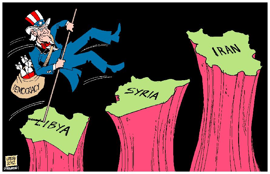 LibiaSiriaIran
