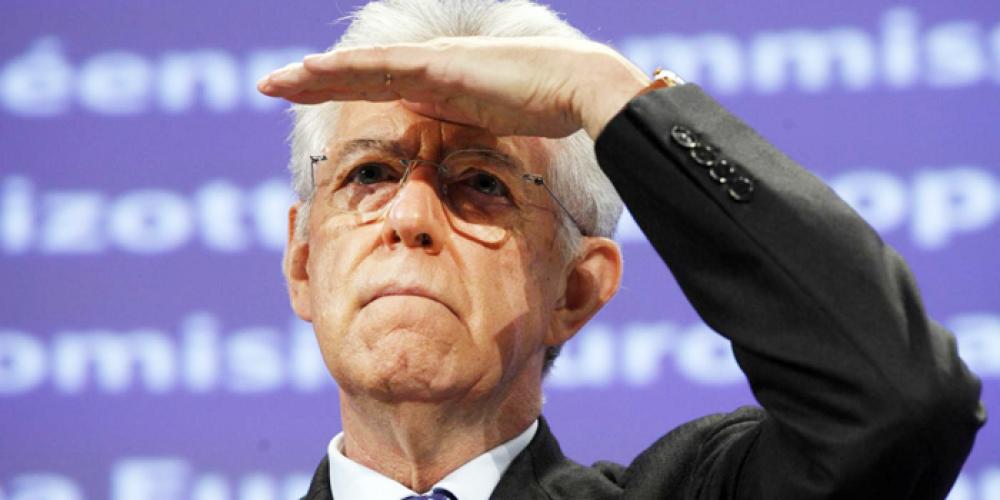 Incredibile!!!! Dopo Berlusconi anche Monti si paragona a De Gasperi