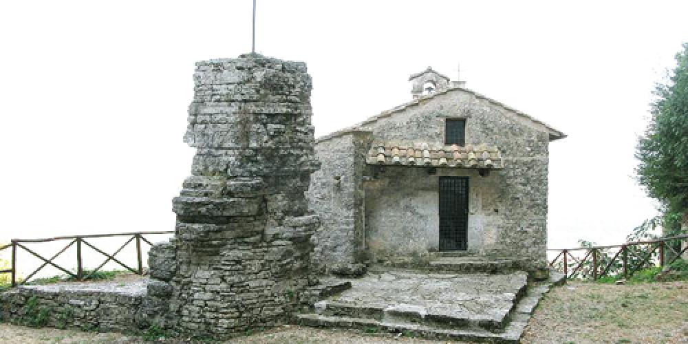 Umbria. Il menhir naturale dello Speco di Narni