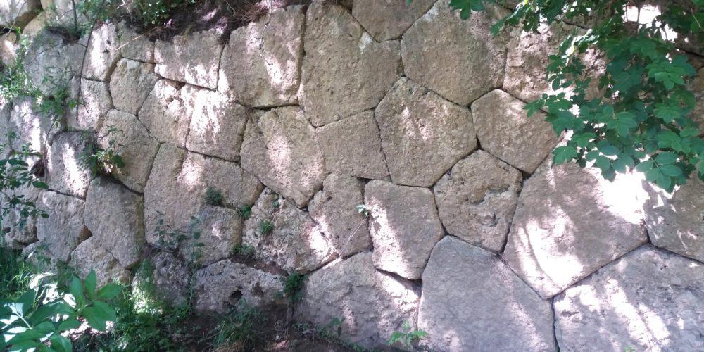 Le mura poligonali dell'antica Cliternia a Fiamignano (RI)