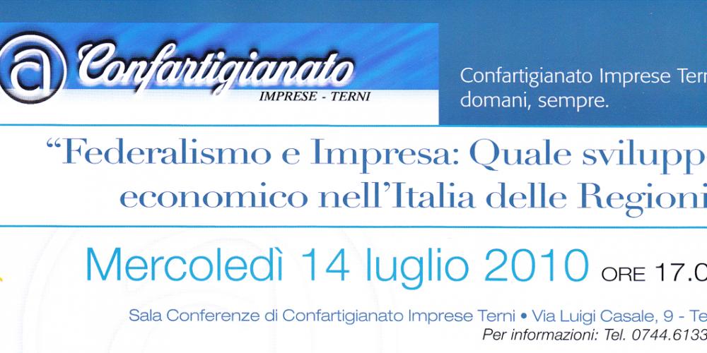 Federalismo e impresa: quale sviluppo economico nell'Italia delle regioni?