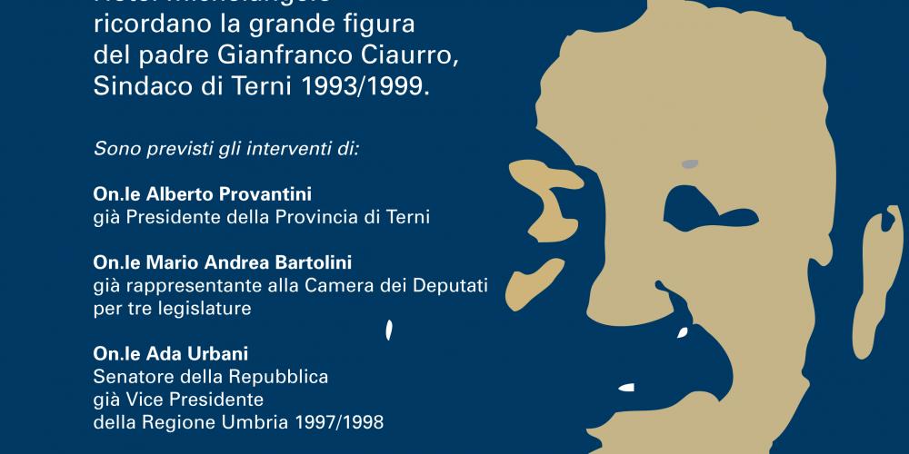 Convegno in ricordo del Sindaco Gianfranco Ciaurro