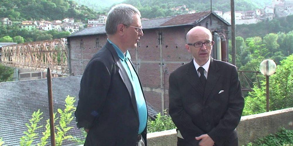Claudio Ricci, Presidente onorario UNESCO Italia, sull'area industriale di Papigno
